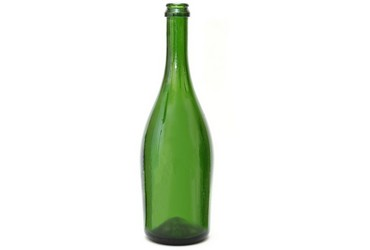 Glass bottles for champaign, sparkling and effervescent wines and wine drinks